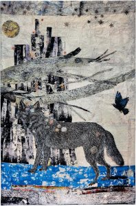 Kiki Smith: Cathedral, Jacquard-kuvakudos, 2013. Kuva: -